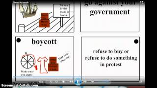 Stamp Act and Vocab