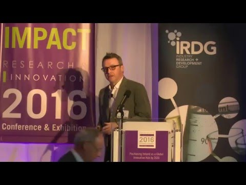 Philip Moynagh - Intel | Main Stage | Research & Innovation Conference & Exhibition 2016