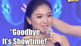 Real Reason Why NADINE LUSTRE Say Goodbye to ITS SHOWTIME!