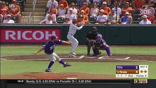 TCU vs Texas Baseball Highlights - May 19