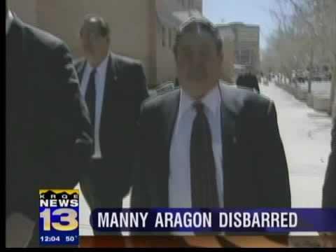 Aragon disbarred