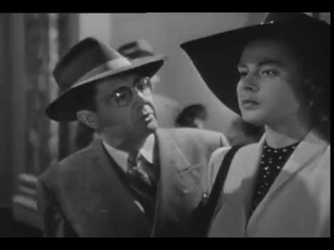 Película Encadenados (Notorious) 1946 Alfred Hitchcock español