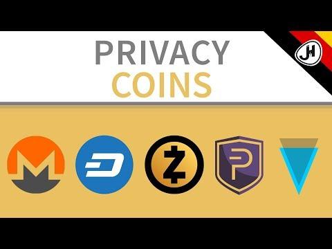 Monero, Zcash, Dash... | Welcher dieser privaten Coins ist der beste?