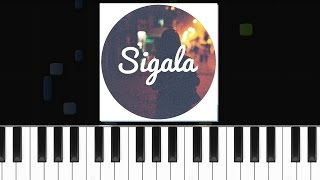 "Sigala - ""Easy Love"" Piano Tutorial - Chords - How To Play - Cover"