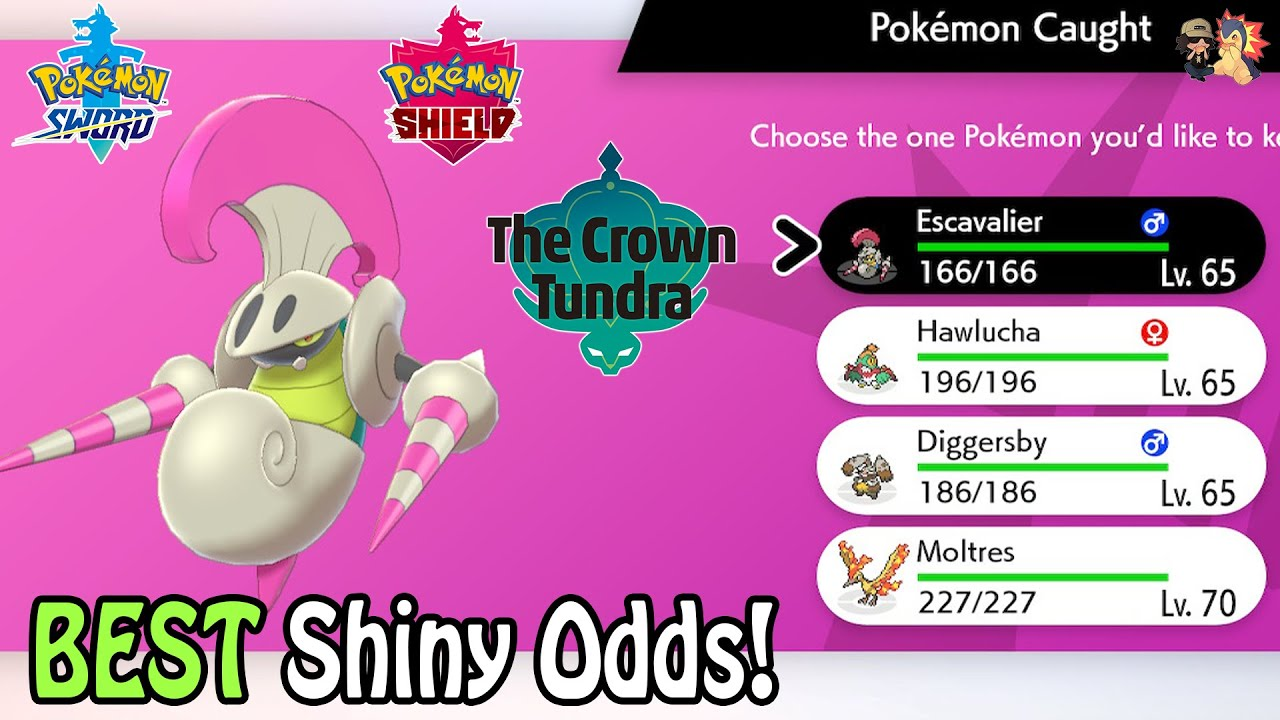 Download BEST SHINY ODDS! How To SHINY HUNT In Dynamax Adventures Mode | Pokemon Sword & Shield: Crown Tundra