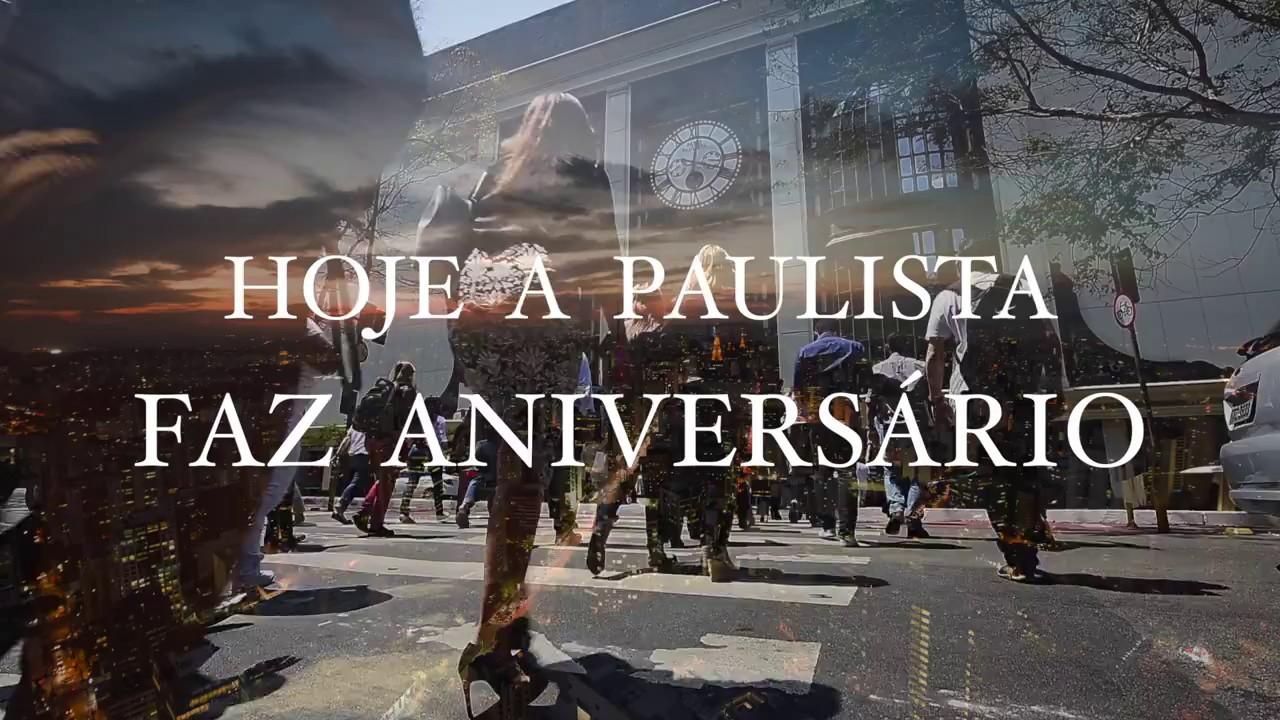 SHOPPING PAULISTA / ANIVERSARIO DA PAULISTA/  FILME DE MARCELO DONATELLI