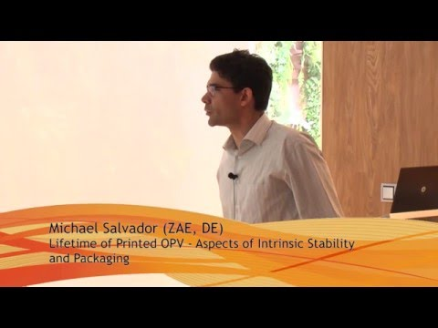 Michael Salvador - Lifetime of Printed OPV