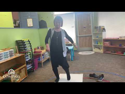 More Moving with Dance | Remote Lesson | Compass Montessori School of Federal Way