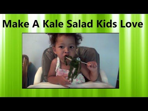 Make a Raw Kale Salad That Kids Love