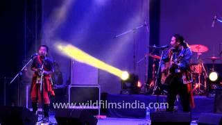 Rewben Mashangva - Father & son duet at NagaFest, Delhi