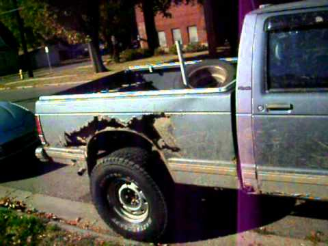 33 Tires On My Project S10 Youtube