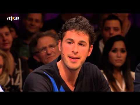 Paul Haarhuis en Jacco Eltingh - RTL LATE NIGHT