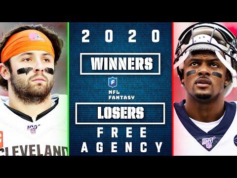 Top 5 Winners & Losers In 2020 NFL Free Agency