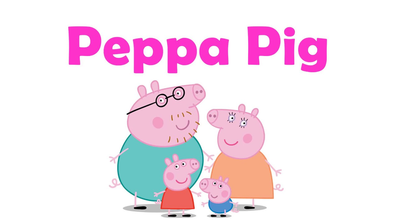Peppa Pig Family Coloring Book Pages for Kids & Art