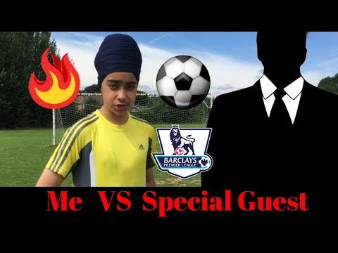 Epic Football Challenges | With Special Guest