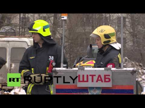 Russia: Moscow underground evacuated after smoke found billowing from station