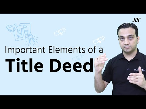 title-deed-in-real-estate---explained