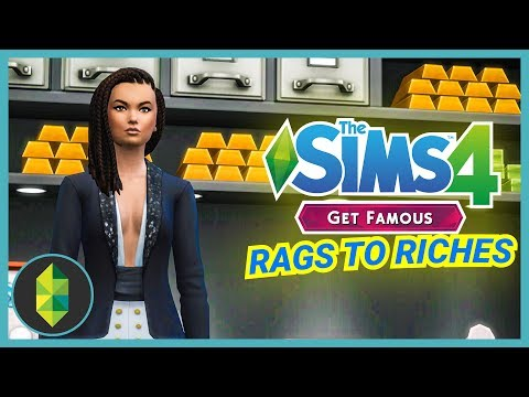 MONEY VAULT - Part 13 - Rags to Riches (Sims 4 Get Famous)