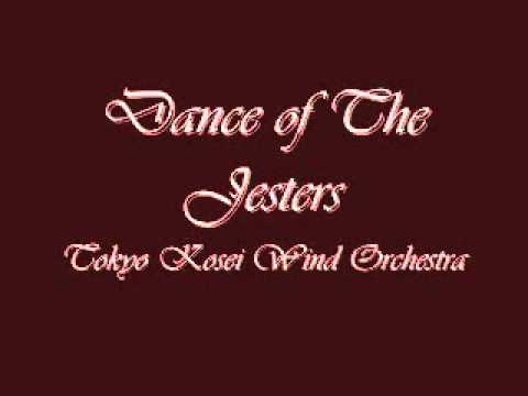 Dance of the Jesters. Tokyo Kosei Wind Orchestra.(Rehearsal).