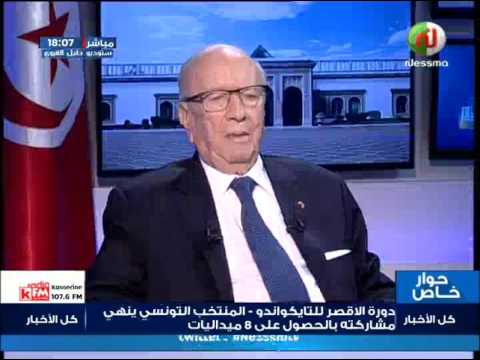Interview exclusive avec le président de la République Mr Béji Caïd Essebsi