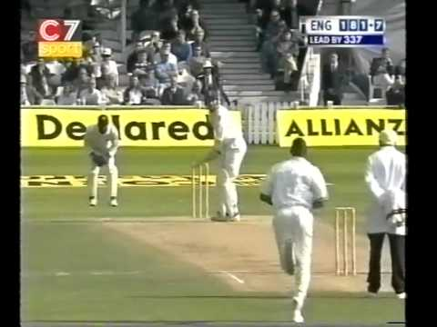 Michael Atherton 108 vs West Indies 5th test 2000