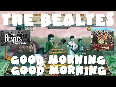 The Beatles - Good Morning Good Morning - The Beatles: Rock Band Expert Full Band (REMOVED AUDIO)