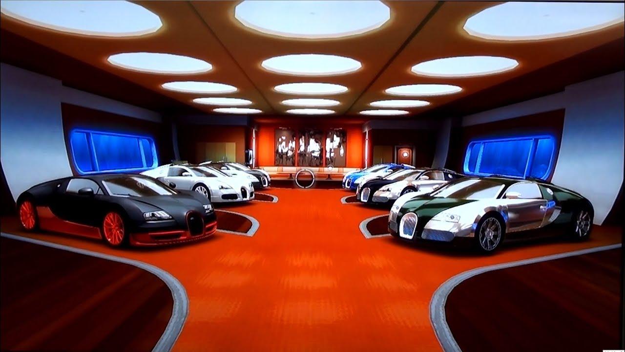 Of Bugattis Epic Bugatti Veyron Garage Six Different Veyrons Test Drive