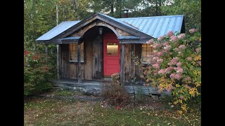 """""""the 14x30 Gibraltar Cabin"""" - Diy Vermont Tiny House - Post & Beam - Sold In 7 Sizes & 6 Formats"""
