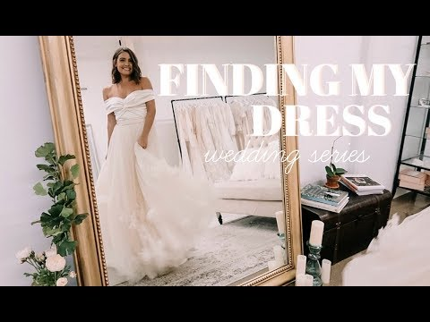 WEDDING SERIES: Dress Shopping in NYC