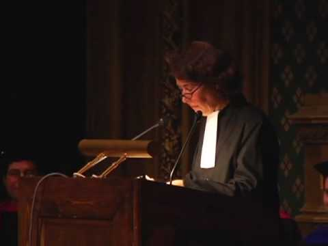 60th University of Chicago Hillel Latke-Hamantash Debate 2006 (Alison Boden Part 2)