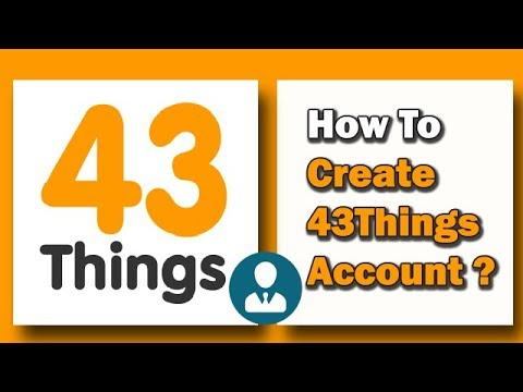 43Things Accounts Sign Up   43Things.com Create Account Free - YouTube