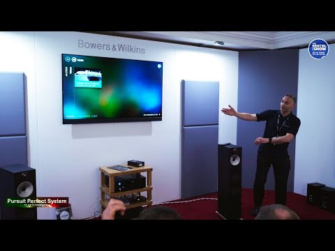Philips 903 OLED + TV Bowers & Wilkins Sound System Demo Part 2 @ Bristol HiFi Show 2019