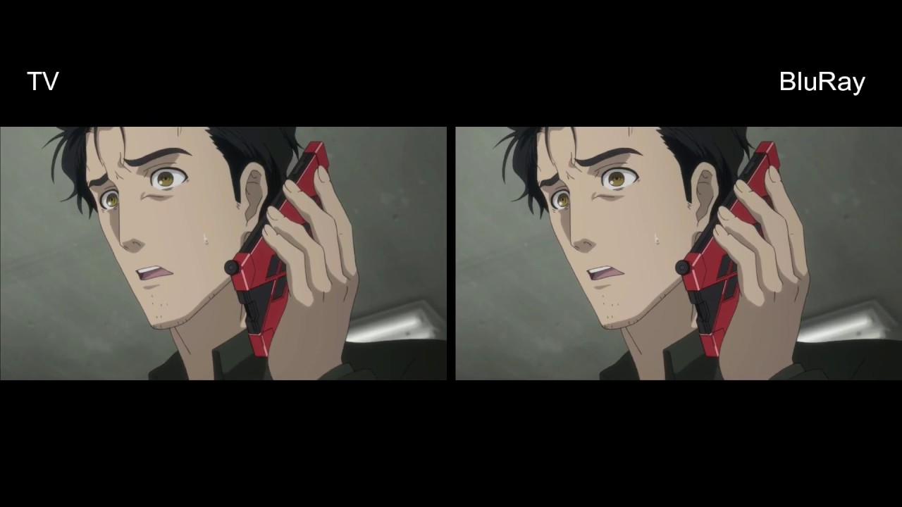 [TV vs Blu-ray Comparison] Steins Gate 0 Episodes 1-8