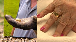 Man Finds 94-Year-Old Woman's Lost Wedding Ring