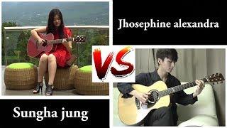 Jhosephine VS Sungha jung (HAVANA Camila cabello ft young thug)