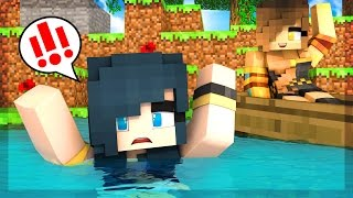 WE LOST OUR HOME! THE NEIGHBORHOOD FLOODS! (Minecraft Roleplay)