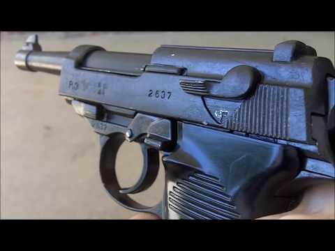 Denix P-38 Non-firing replica pistol gun Nazi German World