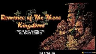 Romance of the Three Kingdoms gameplay (PC Game, 1985)
