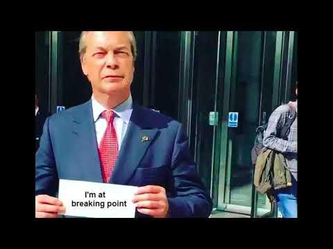 "Nigel Farage - ""I've Gotta Get a Message to You"""