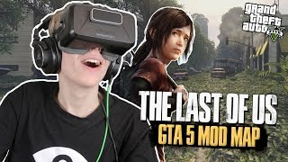 LAST OF US IN VIRTUAL REALITY! | GTA 5: VR (Oculus Rift DK2)