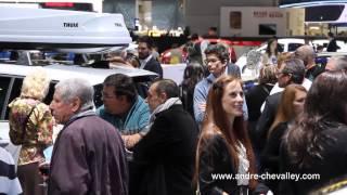 Soirée Opel au Salon de l'auto de Genève 2015 - André Chevalley SA