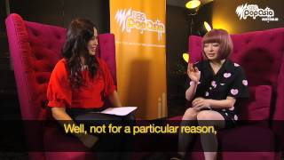 SBS PopAsia host Jamaica dela Cruz sat down with J-pop queen Kyary ...