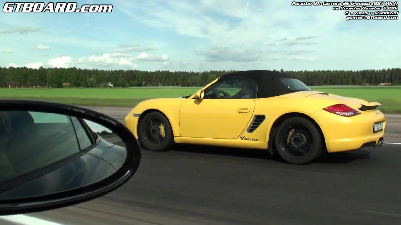 Porsche Boxster S Pdk Vs Porsche 911 Carrera 2s Convert