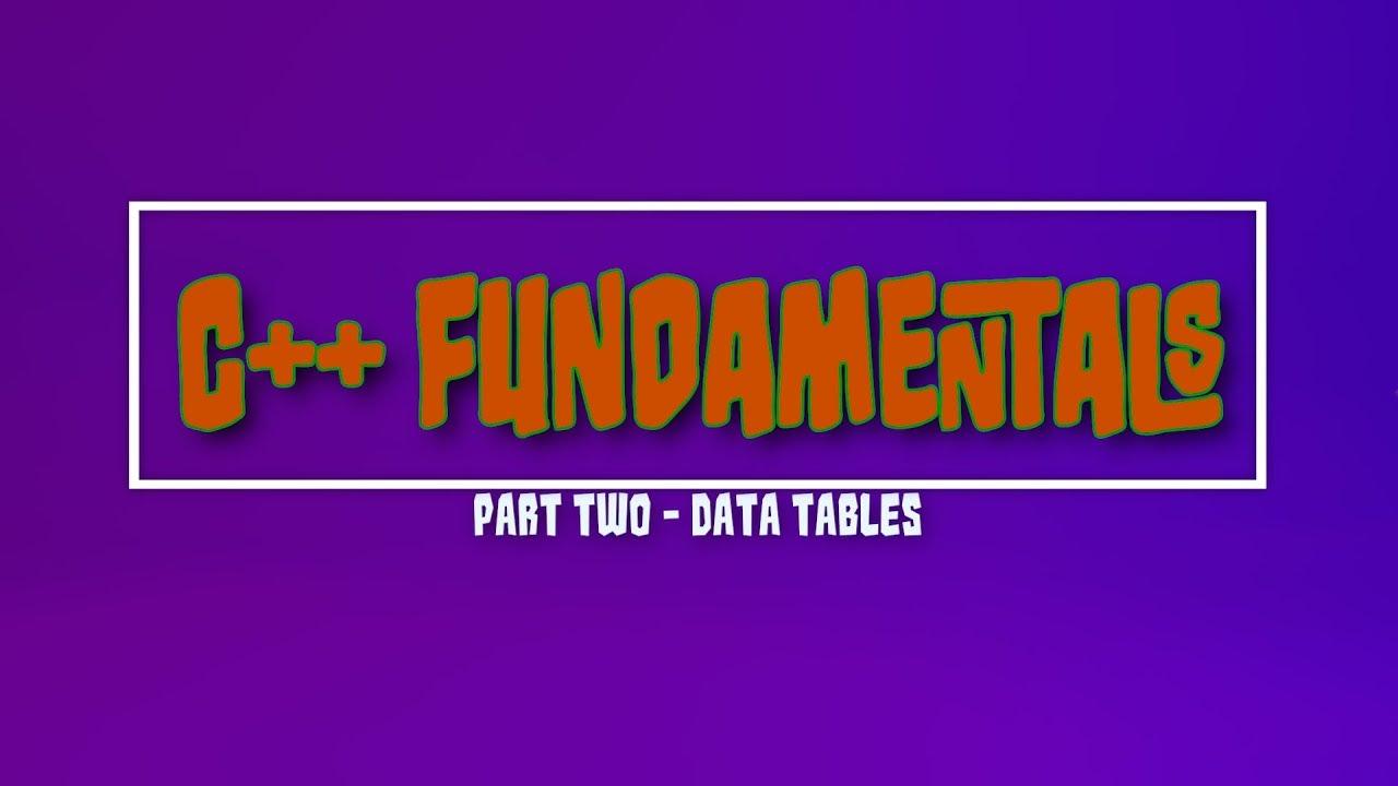 Unreal Engine C++ Fundamentals – DataTables – Jolly Monster Studio