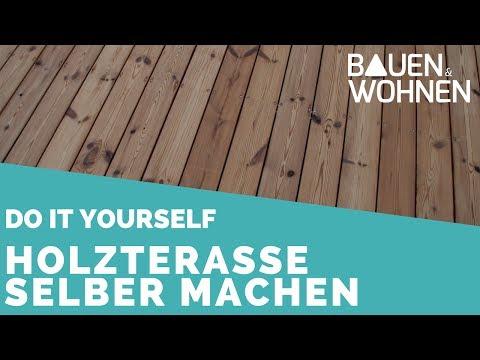 0232 Tipp Holzterrasse Selber Bauen