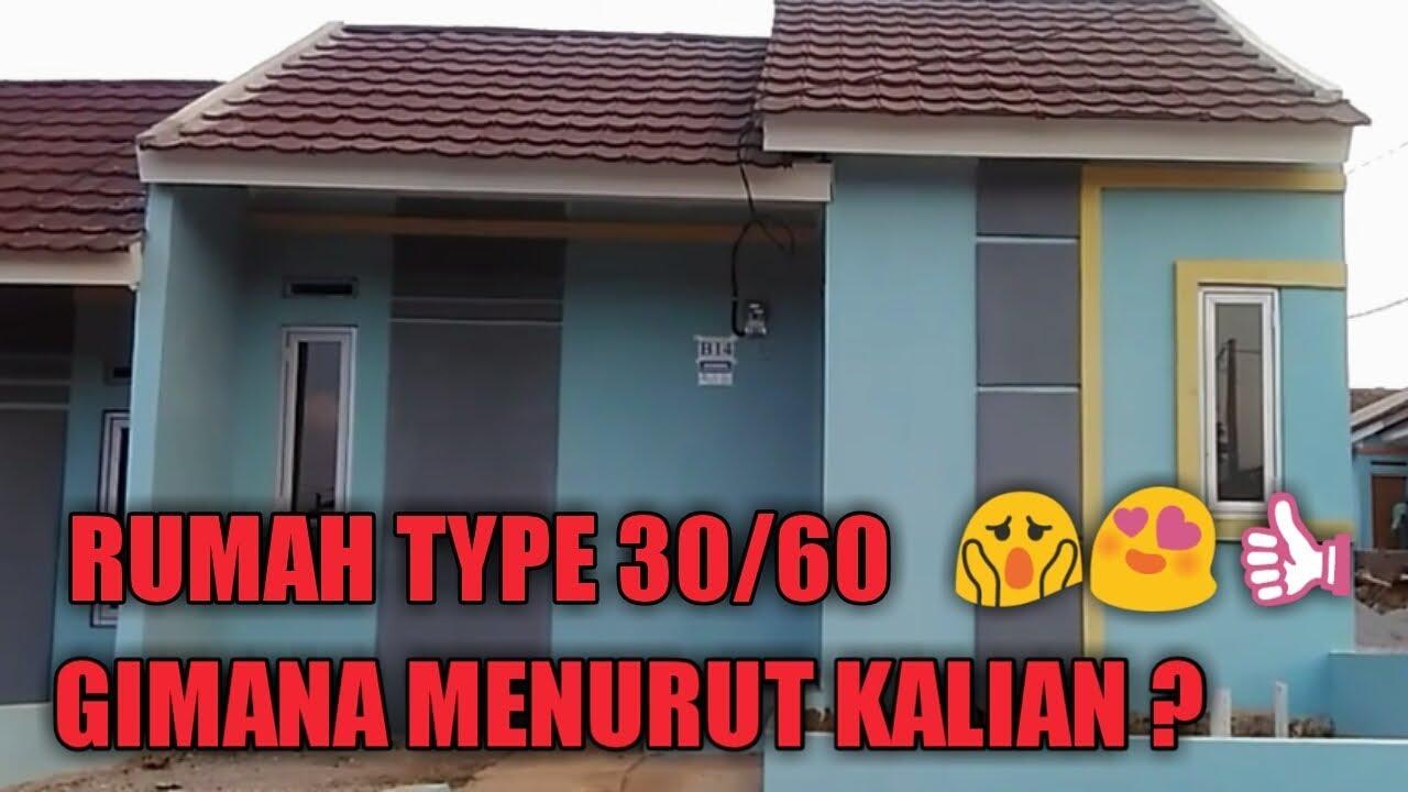 Rumah Subsidi Type 30 60 Tidak Perlu Renovasi Banyak Ada Dapur Dan Kamar Mandi Luas Youtube
