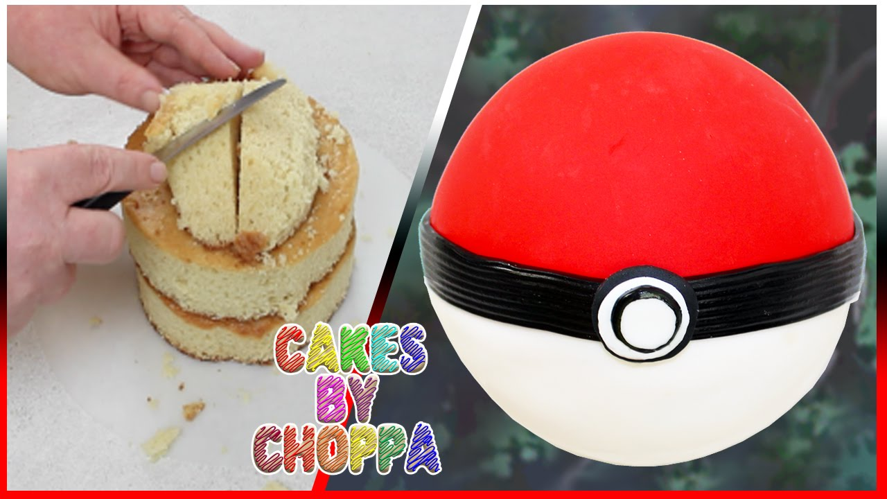Poké Ball Cake | Pokémon (How To) - YouTube