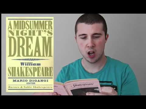 Book Review: Shakespeare -- Midsummer Night's Dream