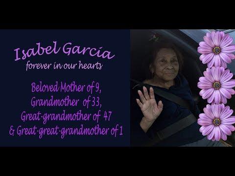 Isabel Garcia Memorial