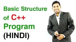 Basic Structure of C++ Program (HINDI) thumbnail